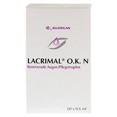 LACRIMAL O.K. N Augentropfen 60x0.6 Milliliter - Vorderseite