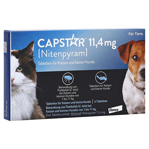 CAPSTAR 11,4 mg Tabletten f.Katzen/kleine Hunde 6 Stück