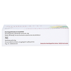 ARNICA 1+1 DHU Kombipackung 1 Packung N1 - Unterseite