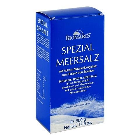 BIOMARIS Spezial Meersalz 500 Gramm