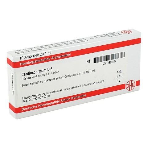 CARDIOSPERMUM D 6 Ampullen 10x1 Milliliter N1