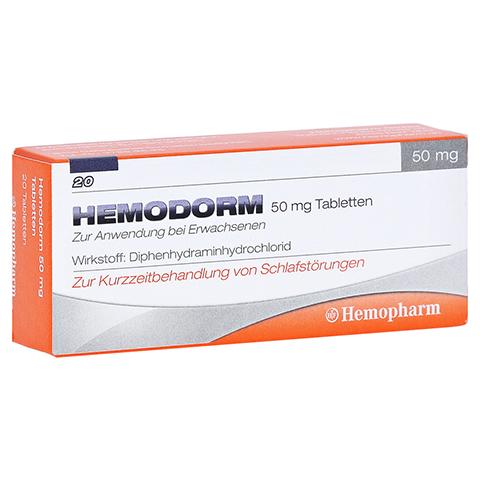 Hemodorm 50mg 20 Stück N2