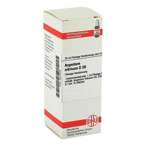 ARGENTUM NITRICUM D 30 Dilution 20 Milliliter N1