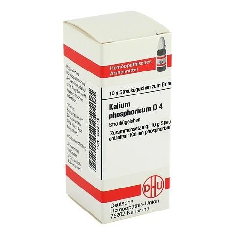 KALIUM PHOSPHORICUM D 4 Globuli 10 Gramm N1