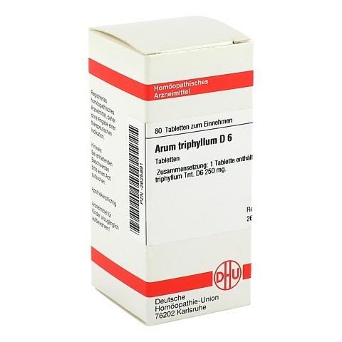 ARUM TRIPHYLLUM D 6 Tabletten 80 Stück N1