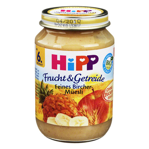 HIPP Frucht & Getreide fein.Birch.Müsli 190 Gramm