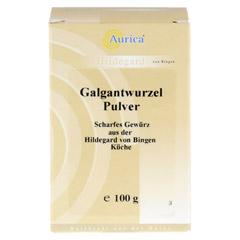 GALGANTWURZEL Pulver 100 Gramm - Vorderseite