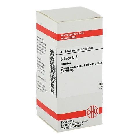 SILICEA D 3 Tabletten 80 Stück N1