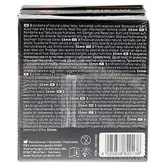 MYSIZE Testpack 53 57 60 Kondome 3x3 Stück - Rückseite