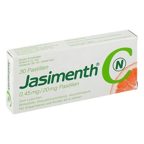 JASIMENTH C N Pastillen 30 Stück