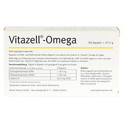 VITAZELL-Omega Kapseln 60 Stück - Rückseite