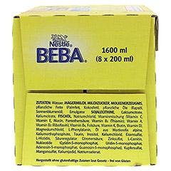 NESTLE BEBA Pro Pre flüssig 8x200 Milliliter - Linke Seite