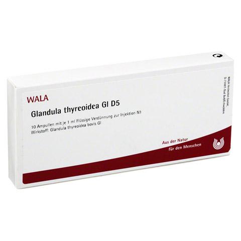 GLANDULA THYREOIDEA GL D 5 Ampullen 10x1 Milliliter N1