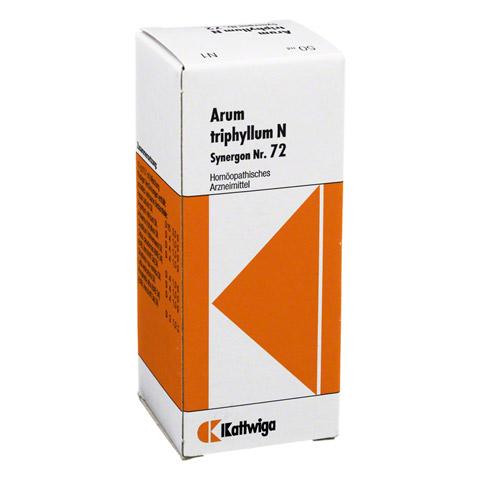 SYNERGON KOMPLEX 72 Arum triphyllum N Tropfen 50 Milliliter N1