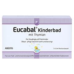 EUCABAL Kinderbad mit Thymian 7x5 Milliliter - Vorderseite