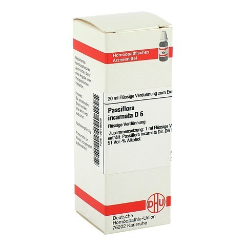 PASSIFLORA INCARNATA D 6 Dilution 20 Milliliter N1