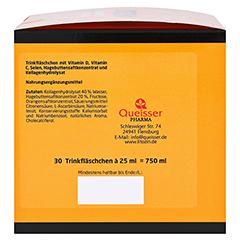 LITOZIN Hagebutte+Kollagen Trinkfläschchen 30x25 Milliliter - Rechte Seite