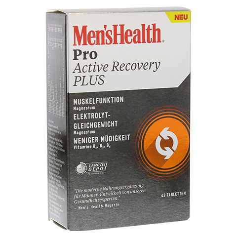 MEN'S HEALTH Pro Active Recovery Plus Tabletten 42 Stück