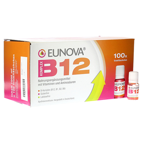 EUNOVA B12 Komplex Trinkfl�schchen 100x10 Milliliter