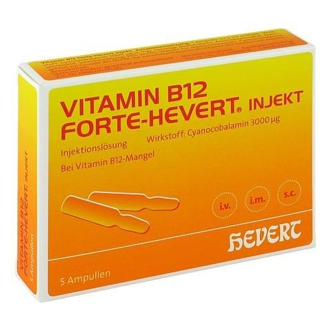 Vitamin B12 Hevert forte Injekt Ampullen 5x2 Milliliter N1