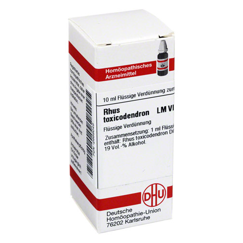 LM RHUS toxicodendron VI Dilution 10 Milliliter N1