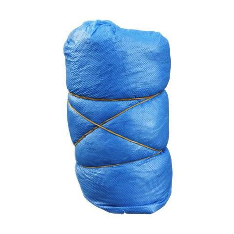 ÜBERSCHUHE Einmal Kunststoff blau 10 Stück
