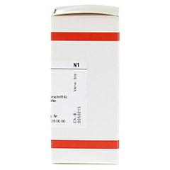 STRYCHNINUM NITRICUM D 6 Tabletten 80 St�ck N1 - Rechte Seite
