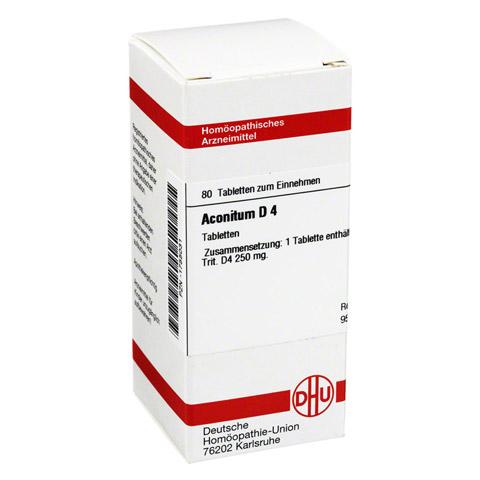 ACONITUM D 4 Tabletten 80 St�ck N1
