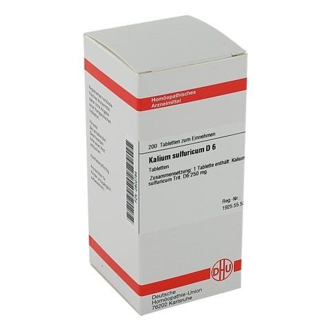 KALIUM SULFURICUM D 6 Tabletten 200 Stück N2