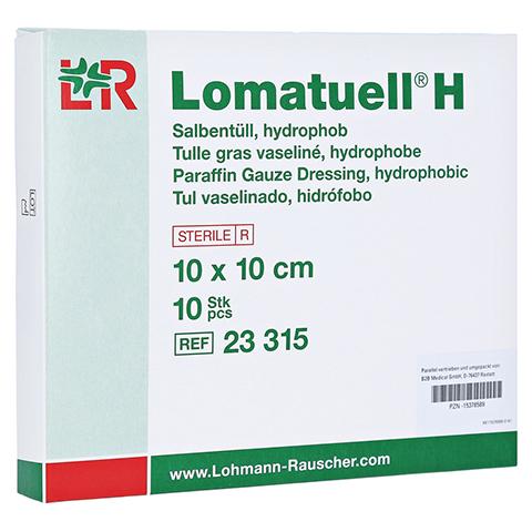 LOMATUELL H Salbent�ll 10x10 cm steril 10 St�ck