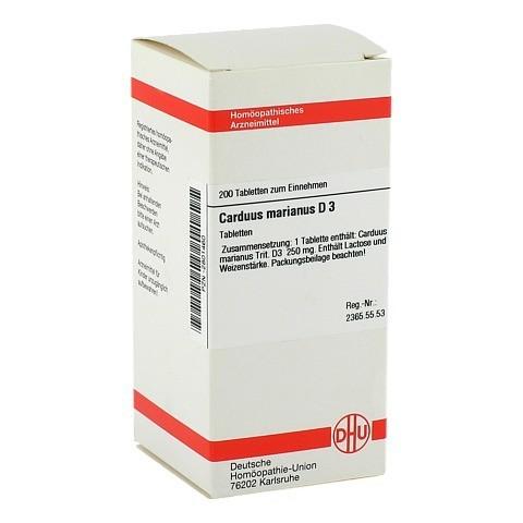 CARDUUS MARIANUS D 3 Tabletten 200 Stück N2