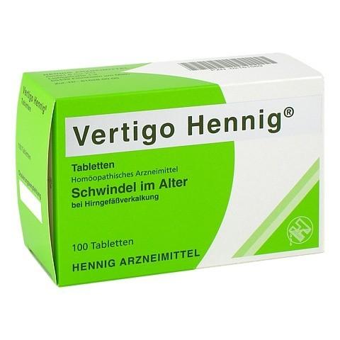 VERTIGO HENNIG Tabletten 100 St�ck N1