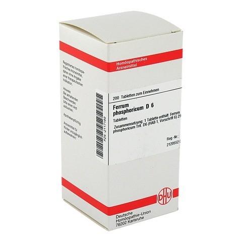 FERRUM PHOSPHORICUM D 6 Tabletten 200 St�ck N2