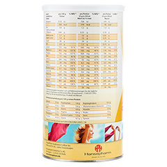 SANFORM Protein Sojaeiweiß Vanille Pulver 425 Gramm - Rechte Seite