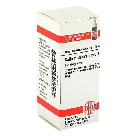 KALIUM CHLORATUM C 30 Globuli 10 Gramm N1