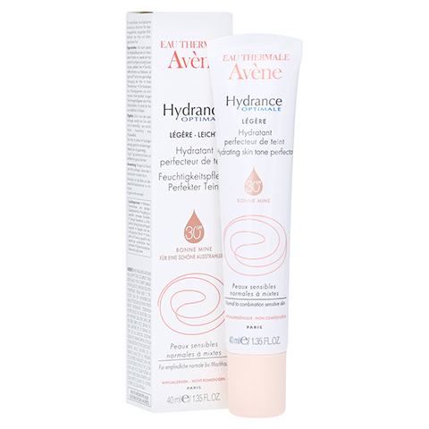AVENE Hydrance Optimale perfekter Teint legere Cr. 40 Milliliter