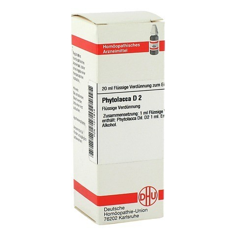PHYTOLACCA D 2 Dilution 20 Milliliter N1