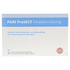 PARI ProtECT Inhalationslösung mit Ectoin Ampullen 20x2.5 Milliliter - Vorderseite