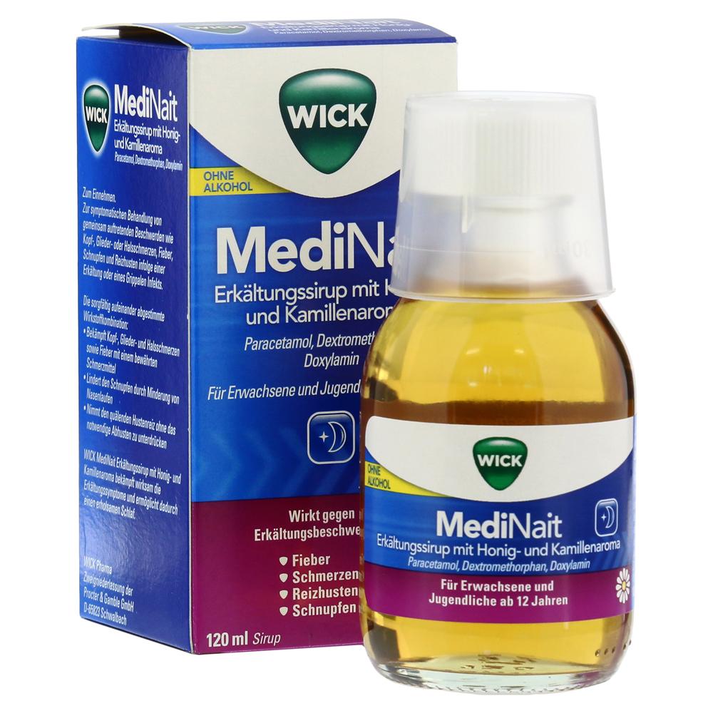 WICK MediNait Erkältungssirup mit Honig-und Kamillenaroma