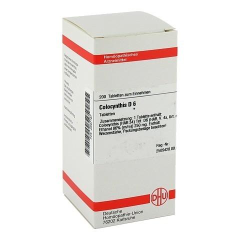 COLOCYNTHIS D 6 Tabletten 200 Stück N2