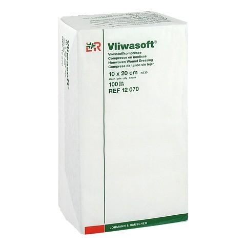 VLIWASOFT Vlieskompressen 10x20 cm unsteril 4l. 100 Stück