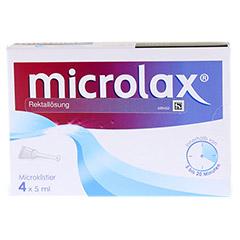 Microlax Rektallösung 4x5 Milliliter N1 - Vorderseite