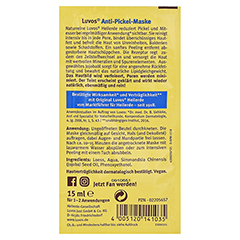 LUVOS Heilerde Gesichtsmaske 15 Gramm - Rückseite