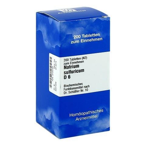 BIOCHEMIE 10 Natrium sulfuricum D 6 Tabletten 200 Stück N2