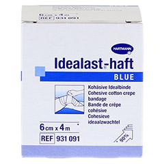 IDEALAST-haft color Binde 6 cmx4 m blau 1 Stück - Vorderseite