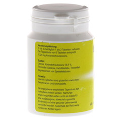 CILANTRIS Tabletten 120 St�ck - R�ckseite