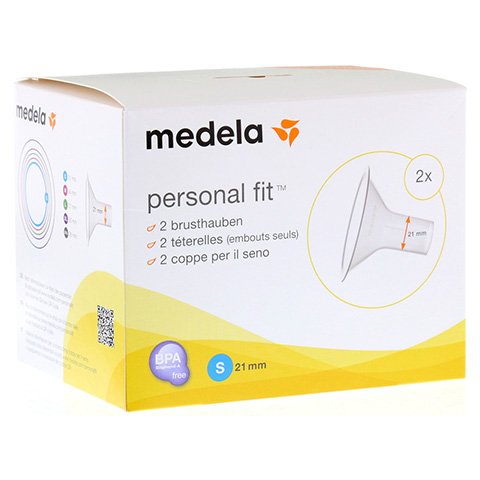 MEDELA Personal Fit Brusthaube Gr.S 2 St 1 Packung