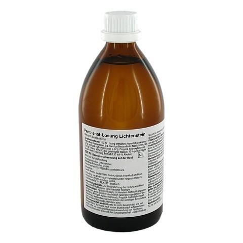 Panthenol-Lösung Lichtenstein 500 Milliliter N3