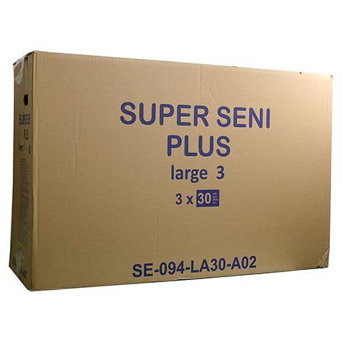 SUPER SENI Gr.3 large plus Windeln Nacht f.Erwach. 30 Stück