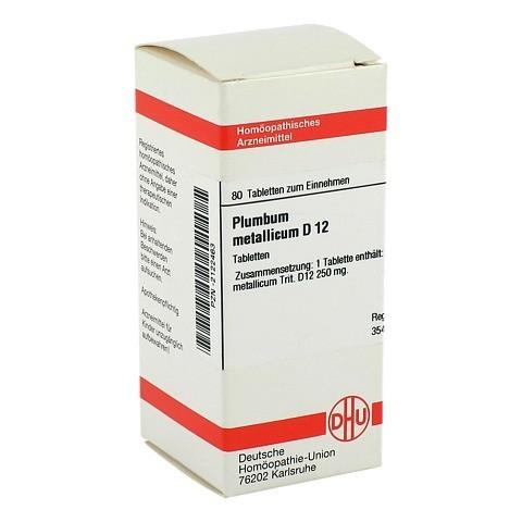 PLUMBUM METALLICUM D 12 Tabletten 80 Stück N1